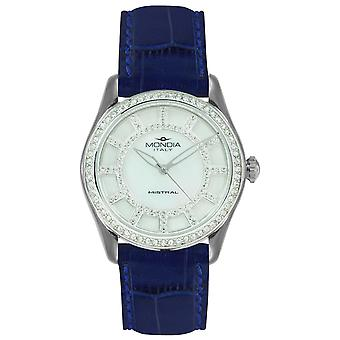 Mondia mistral lady Japanese Quartz Analog Women Watch with Mi738-1CP Cowskin Bracelet