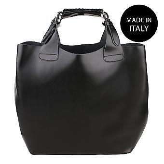 Leather shoulder bag Made in Italy 9007