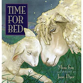 Time for Bed by Mem Fox - Jane Dyer - 9780152881832 Book