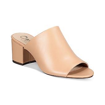 Callisto Womens Mathis Fabric Peep Toe Clogs
