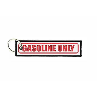 Porte cles aviation keychain voiture carburant gasoline only r2