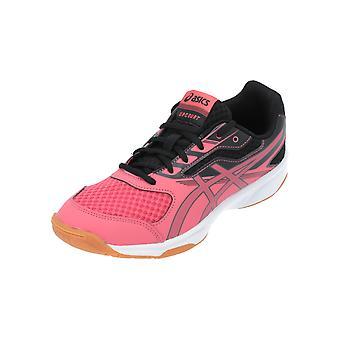 Asics UPCOURT 2 GS Kids Chaussures de football Chaussures de sport rouges