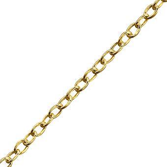 Todo el enlace - cadenas solo de plata esterlina 925 - W11401X
