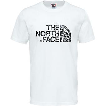 North Face Woodcut Dome T0A3G1LA9 universell sommer menn t-skjorte