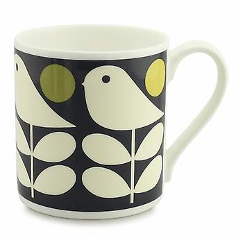 Orla Kiely Early Bird sombre marine Chine grande tasse