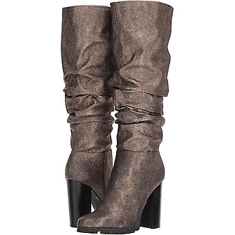 Katy Perry Women's The Oneil Knee High Boot, Bronze, 7.5 M M US