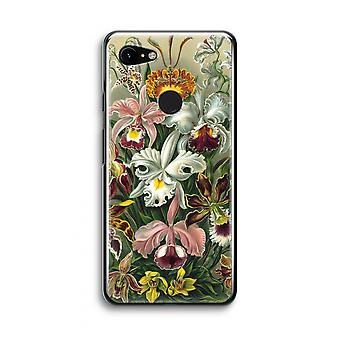Google Pixel 3 Transparent Case (Soft) - Haeckel Orchidae