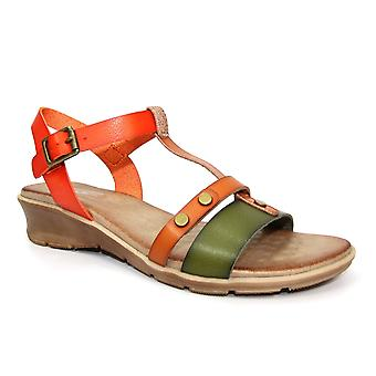 Lunar Marie sommar låg kil sandal