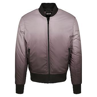 Urban Classics Men's Bomber Jacket Gradient