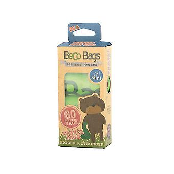 Beco Mint Scented Plastic Dog Bags