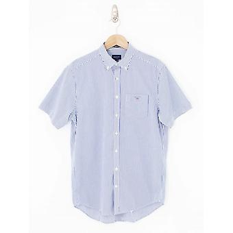 GANT Broadcloth Banker Shirt - College Blue