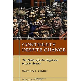 Continuity Despite Change (Social Science History)
