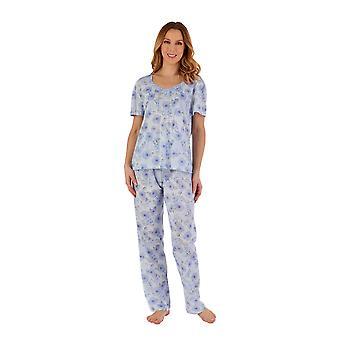 Slenderella PJ55114 Women's Floral Pyjama Set