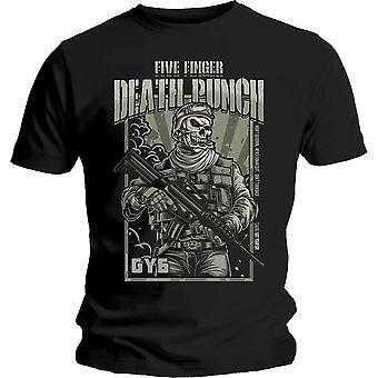 Five Finger Death Punch War Soldier Official Tee T-Shirt Mens Unisex
