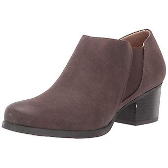 SOUL Naturalizer Women's Claira Ankle Boot, Dark Brown, 8.5 W US
