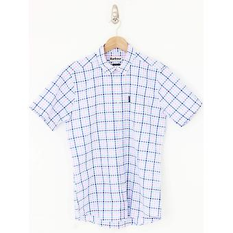 Barbour Seers Short Sleeve Shirt - Pink