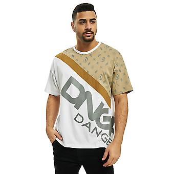 Dangerous Men's T-Shirt Leisure DNGRS Bear Top Brand logo print Round neck