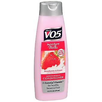 Alberto vo5 moisture milks conditioner, stawberries & cream, 12.5 oz