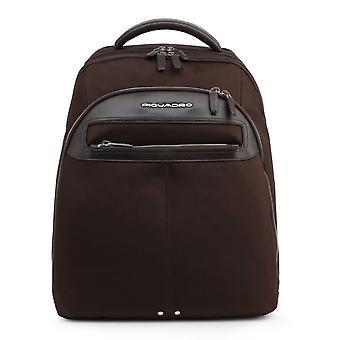 Piquadro Original Men All Year Backpack/Rucksack - Brown Color 36995