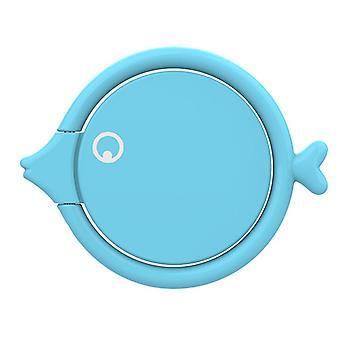 شكل عالمي الأسماك المعدنية 360 درجة دوران الإصبع حامل حامل سطح المكتب موقف للهاتف المحمول
