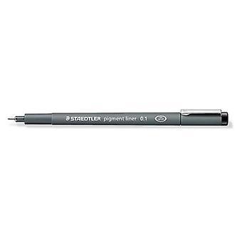 Staedtler pigment liner fineliner 0,1 mm black 308 01-9