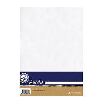 Aurelie Hammered Cardstock White (AUSP1028)