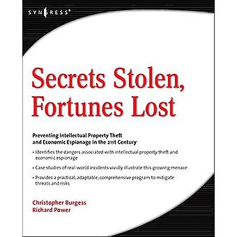 Secrets Stolen Fortunes Lost by Chandra