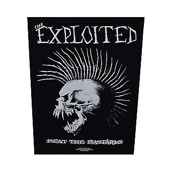 Exploited Beat The B*stards Back Patch