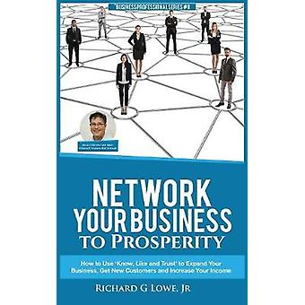 Network Your Business to Prosperity How to Use Know Like and Trust to Expand Your Business Get New Customers and Increase Your Income by Lowe Jr & Richard G