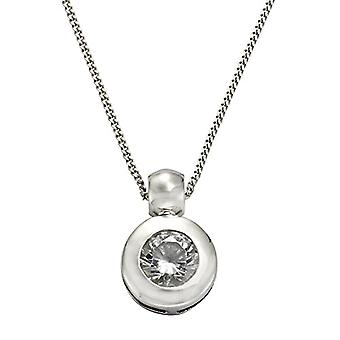ZEEme 500244382-45 - Chain with women's pendant with cubic zirconia - silver sterling 925 - 450 mm