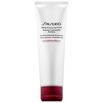Shiseido Deep Cleansing Foam Oily - Blemish Prone Skin 4.4oz / 125ml