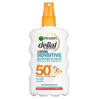 Delial Protective Spray for Children Sensitive Advanced Spf50 200 ml