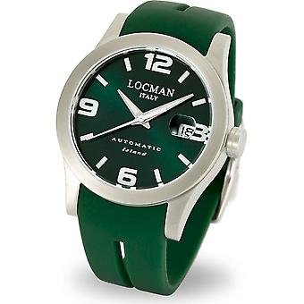 LOCMAN - Wristwatch - Men - 0615V02-00GRWSIG - ISLAND ONLY TIME AUTOMATIC