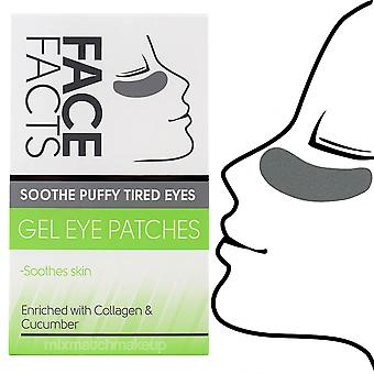 Face Facts Gel Eye Patches ~ Soothe Puffy Tired Eyes