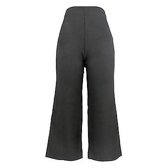 Kelly By Clinton Kelly Women's Pants (XXS) Pull On Culotte Black A304703