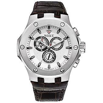 V.O.S.T. Germany V100.005 Steel Chrono men's watch 44mm