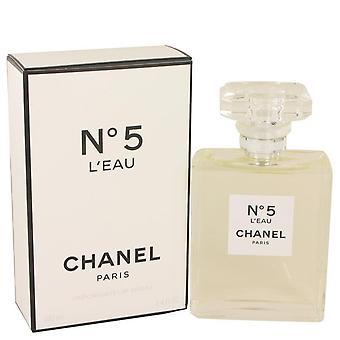 Chanel No. 5 L'eau Eau De Toilette Spray By Chanel 3.4 oz Eau De Toilette Spray