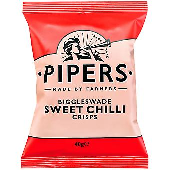 Pipers Biggleswade Sweet Chilli Crisps