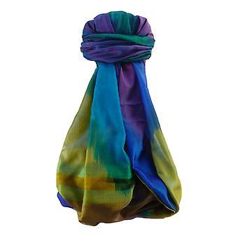 Varanasi Ekal Premium Silk Long Scarf Heritage Range Mangat 4 by Pashmina & Silk