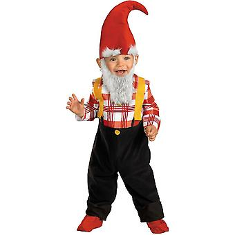 Garden Gnome Toddlers Costume