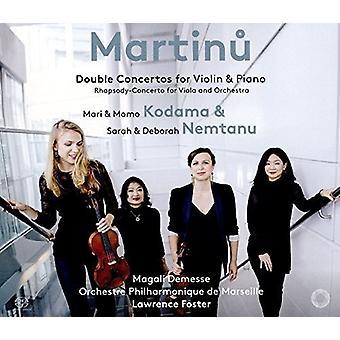 Martinu / Nemtanu / Foster - Double Concertos [SACD] USA import