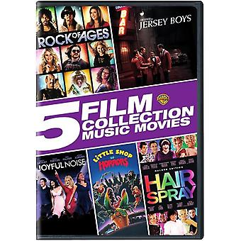 5 Film Collection: Music Movies Collection [DVD] USA import