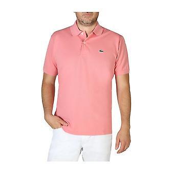 Lacoste -BRANDS - Clothing - Polo - L1212_FXP - Men - Pink - 4