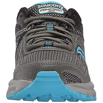 Saucony Womens Grid Cohesion Fabric Low Top Lace Up Running Sneaker