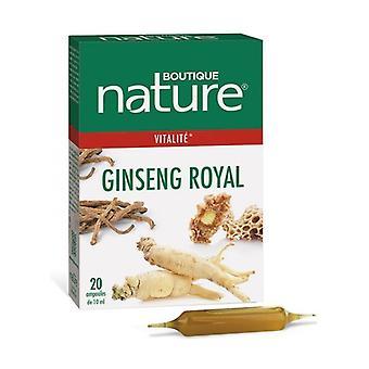 Ginseng Royal 20 ampullit
