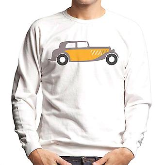 Citro�n Traction Classic Car Sketch Men's Sweatshirt