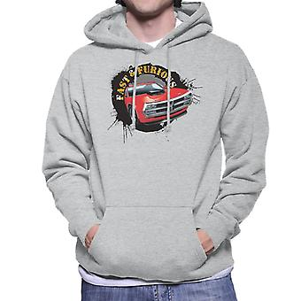 Fast and Furious Car Splatter Men-apos;s Sweatshirt à capuchon