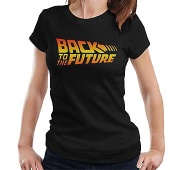 Back To The Future Classic Cinematic Logo Women's T-Shirt