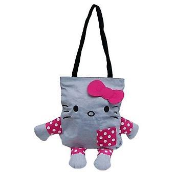 Hand Bag - Hello Kitty - Gray Body