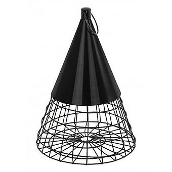 CJ Wildlife Pyramid Fat Ball Feeder - Black